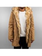 Bangastic Mantel Fake Fur braun