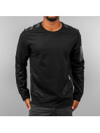 Mesh Sweatshirt Black...