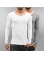 Bangastic Pitkähihaiset paidat 2-Pack valkoinen