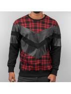 Plaid Sweatshirt Black/R...