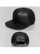 PU Snapback Cap Black...