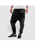 PU Sweat Pants Black...