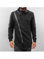 Bangastic Pullover PU Turtelneck noir
