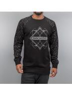 Bangastic Pullover Quadrat noir