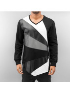 Bangastic Pullover Mix schwarz