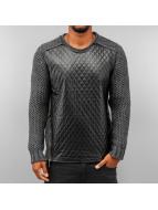 Quilt Sweater Anthracite...