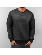 Quilt Sweatshirt Black...