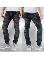 Bangastic Skinny jeans Dirty blauw