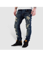 Bangastic Skinny jeans Destroyed blauw