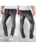 Bangastic Skinny jeans Drawstring Anti Fit zwart