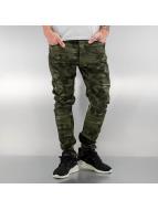 Bangastic Slim Fit -farkut Paul camouflage