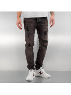 Bangastic Slim Fit Jeans Emil grau