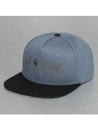 Bangastic Snapback Cap Logos blue