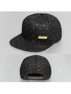 Bangastic Snapback Cap All-Over Logo schwarz