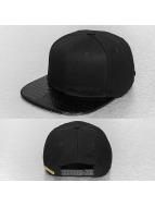 Bangastic snapback cap Croc zwart