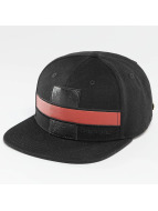 Bangastic snapback cap *B-Ware* PU zwart