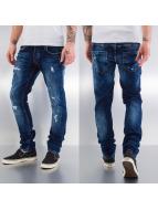 Bangastic Straight Fit Jeans Used blau