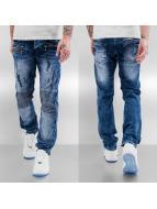 Bangastic Straight fit jeans Saburo blauw