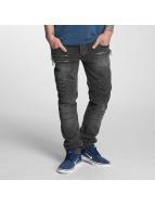 Bangastic Straight Fit Jeans Piet grå