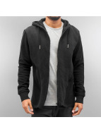 Bangastic Sweat capuche zippé Jim noir