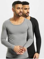 Bangastic T-Shirt manches longues 2-Pack gris