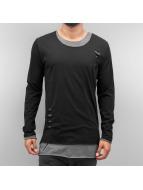 Bangastic T-Shirt manches longues Leander noir