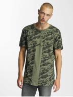 Bangastic t-shirt Camo olijfgroen
