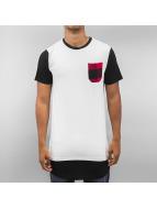 Bangastic T-Shirt Plaid weiß