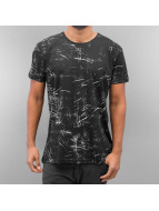Bangastic t-shirt Delian zwart