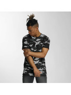 Bangastic t-shirt Camo zwart