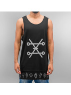 Bangastic Tanktop Symbols zwart