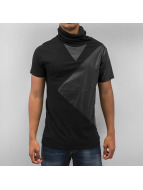 Turtleneck T-Shirt Black...