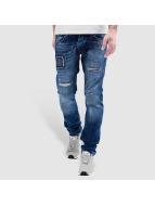 Bangastic Kush Straight Fit Jeans Blue