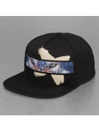 Wolf Snapback Cap Black...