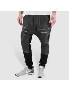 Zip Leather Sweat Pants ...
