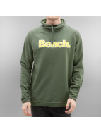 Bench Пуловер Raglan High Neck хаки
