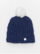 Bench Bonnet hiver Turn Up Bobble bleu