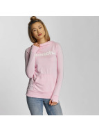 Bench Felpa con cappuccio Corp Print rosa