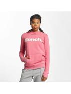 Bench Hoody Crop Print rosa