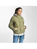 Bench Lightweight Jacket Oversized 2 in 1 Look green