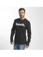 Bench Longsleeve Logo zwart