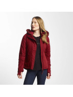 Bench Manteau hiver Asymmetric Functional rouge