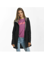 Bench Slim Longline Bonded Jacket Black Beauty