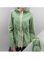 Bench Prechodné vetrovky Casual Cotton zelená