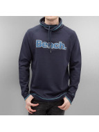 Bench Pullover Raglan High Neck blau