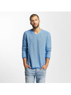 Bench Pullover Structured blau