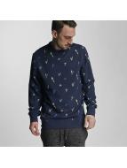 Bench Pullover Parrot Aop bleu
