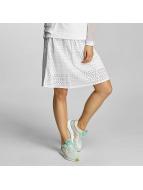 Bench Skjørt Cotton Crochet hvit