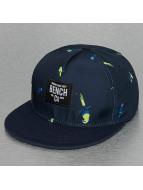 Bench snapback cap Parrot Print blauw