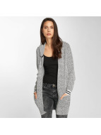 Bench Strickjacke Easy Pixels grau